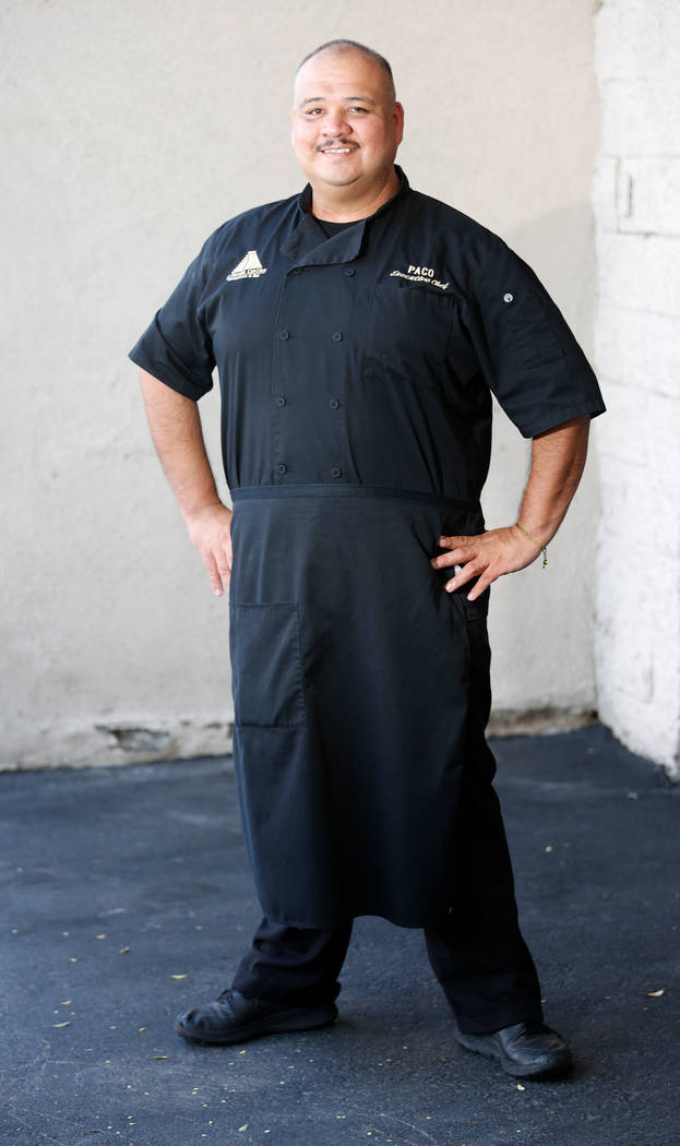 Paco Cortes, executive chef of El Dorado Cantina, in front of the restaurant in Las Vegas, Wednesday, Oct. 25, 2017. Chitose Suzuki Las Vegas Review-Journal