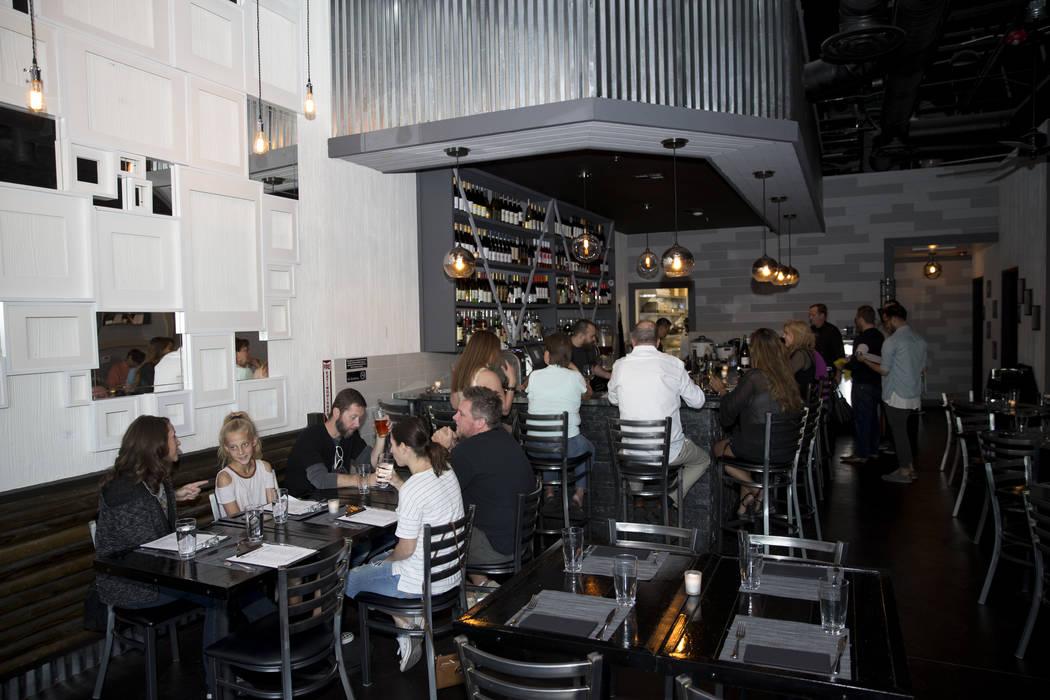 People dine at The Black Sheep restaurant in Las Vegas, Friday, Oct. 27, 2017. Erik Verduzco Las Vegas Review-Journal @Erik_Verduzco