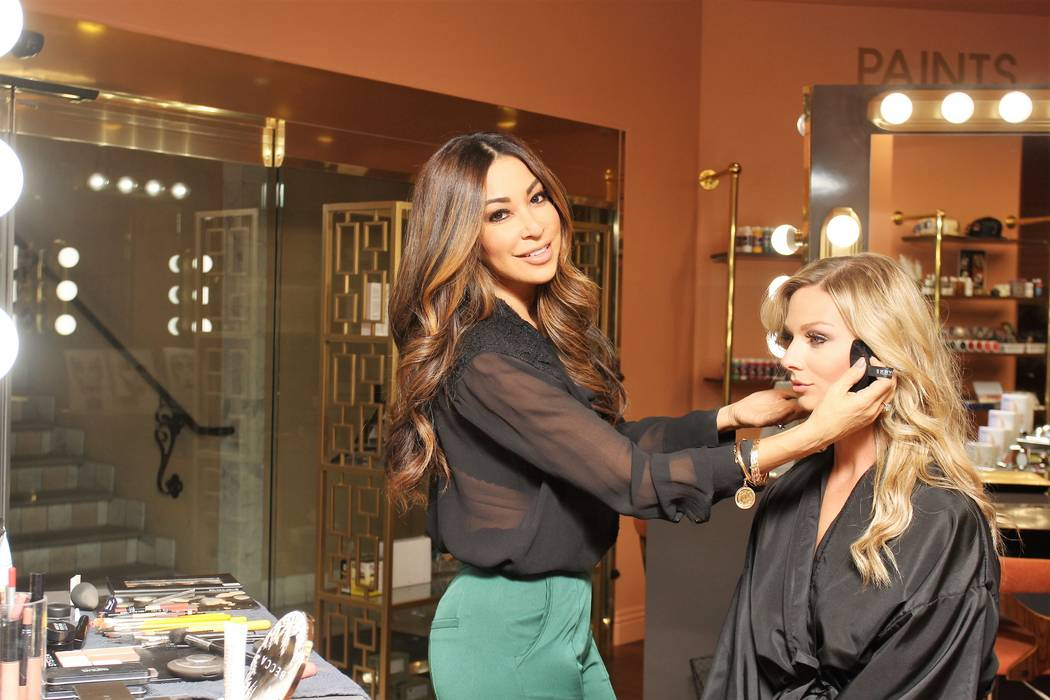 Lissette Waugh, left, is the founder of L Makeup Institute.