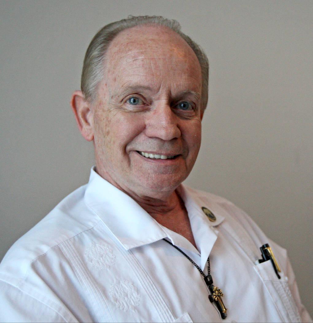 Chaplain Gary Roysden at the University Medical Center chapel in Las Vegas, Wednesday, Nov. 1, 2017. Gabriella Benavidez Las Vegas Review-Journal @latina_ish