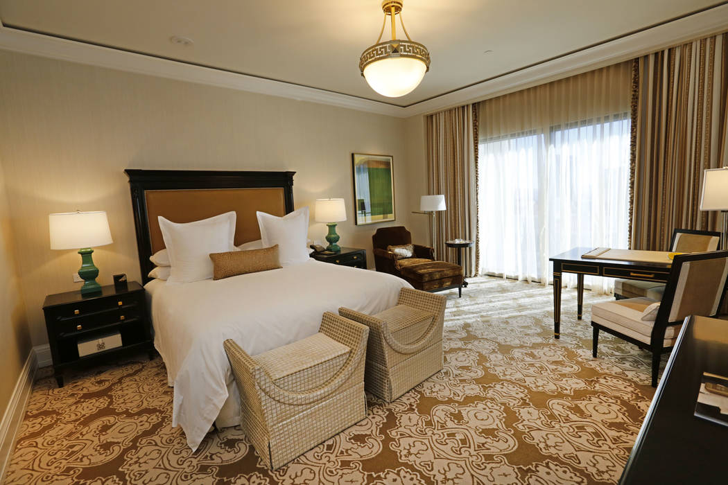 Caesars Palace upgrades villas to capture more of high-end market ...