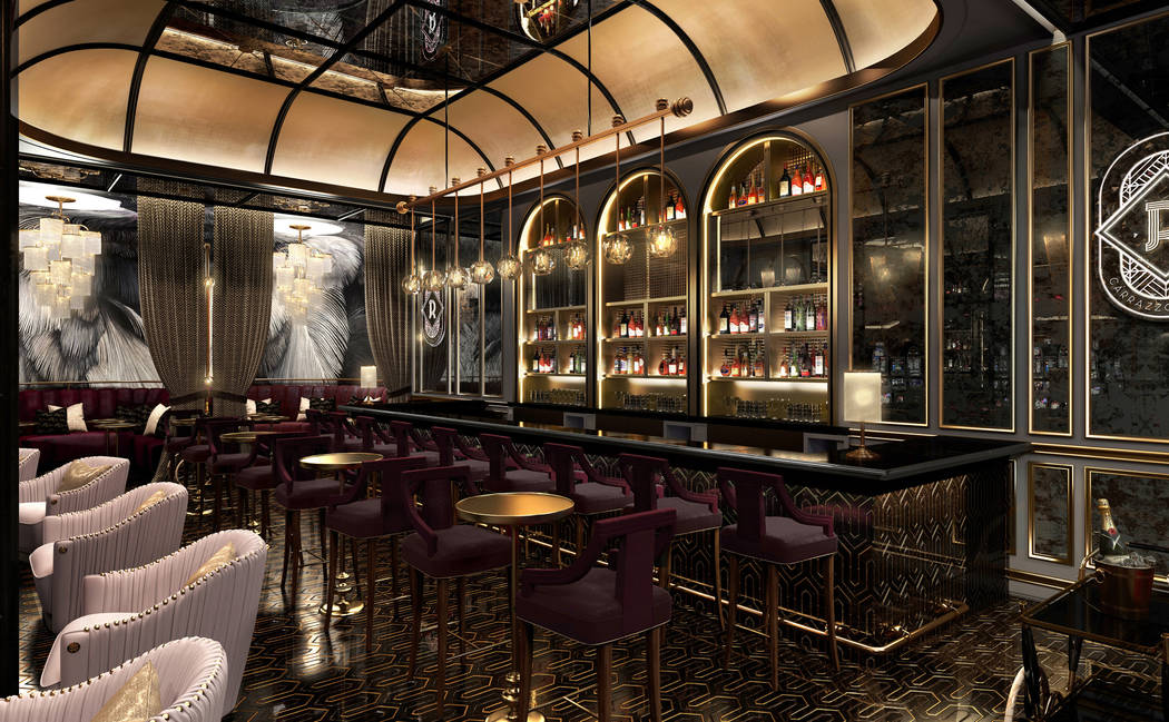 Artist rendering of the Rosina Bar provided by the Palazzo hotel-casino.
