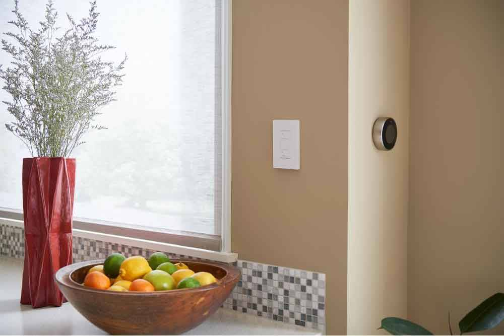 Home Depot A central, ceiling-mounted fixture is adequate for many kitchens and can be improved simply by putting all lighting on a dimmer with energy-efficient light bulbs.