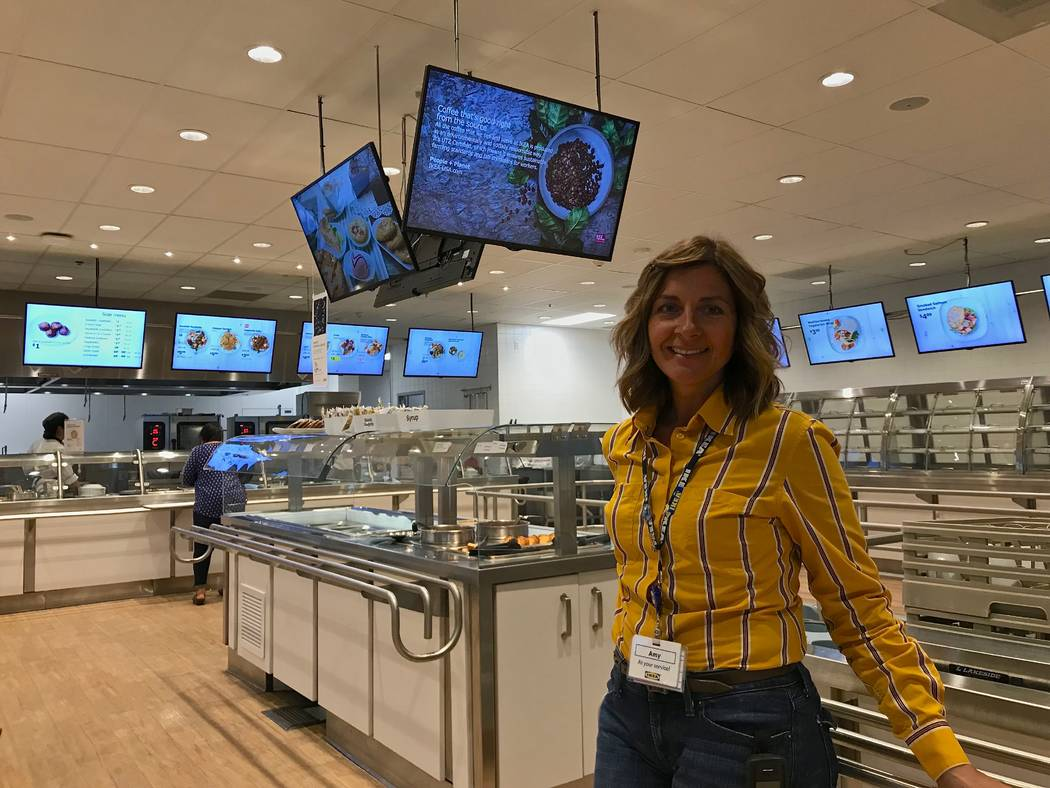 Ikea store manager Amy Jensen said that the store has decreased its food waste by 37 percent in the past nine months in its bistro and cafe. (Madelyn Reese/View) @MadelynGReese