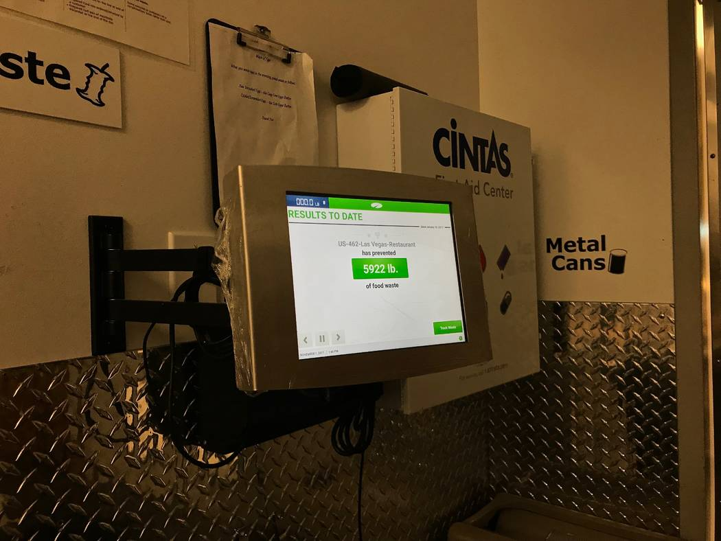 The electronic LeanPath system tracks the food waste in Ikea's cafes and kitchens and creates reports on how much food was tossed, its dollar value and any trends in disposal. (Madelyn Reese/View) ...