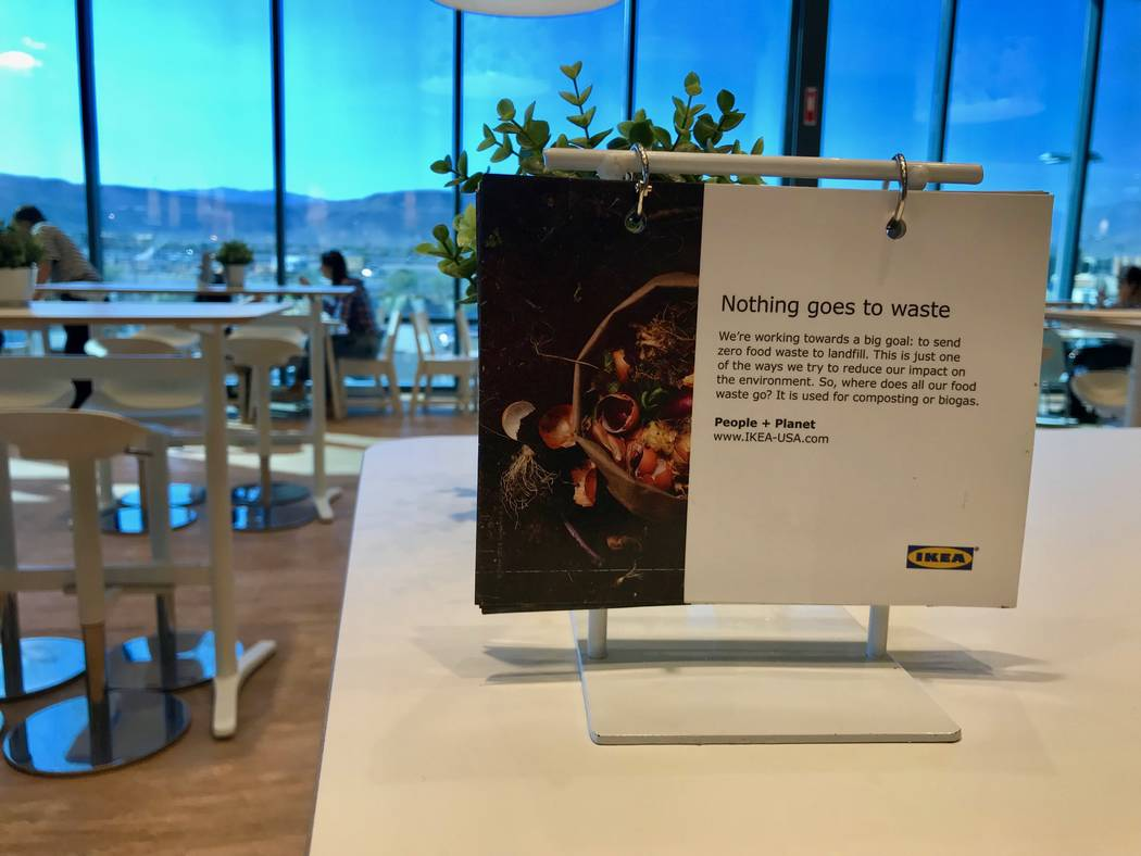Since it installed the LeanPath system to track food waste, Ikea's Las Vegas location has reduced the amount of food tossed by 37 percent in nine months. (Madelyn Reese/View) @MadelynGReese