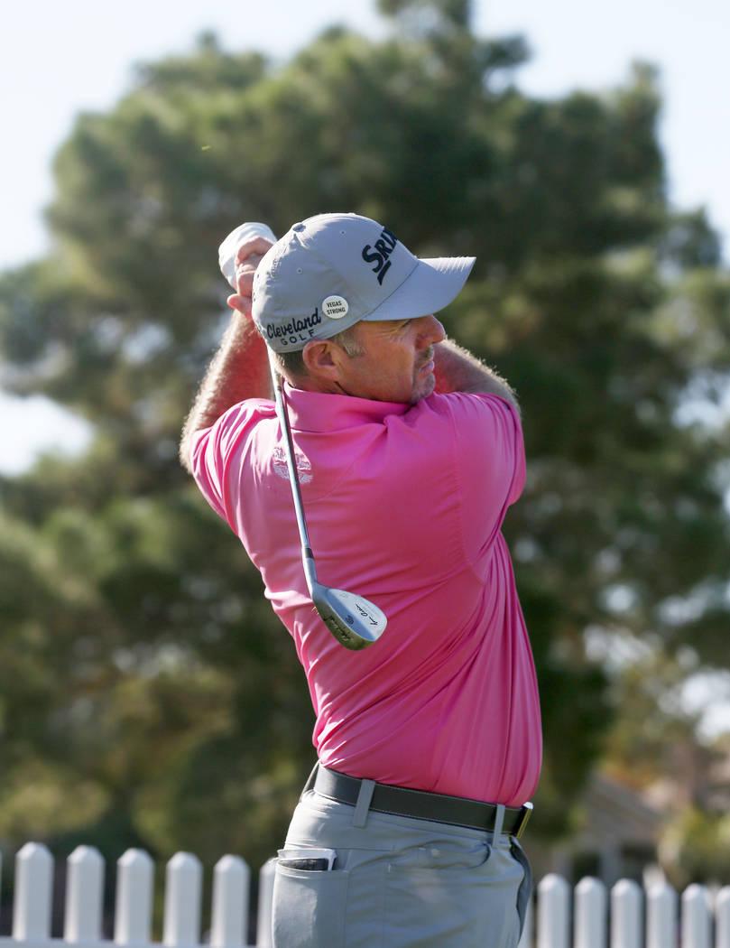 Australian professional golfer Rod Pampling during the preview day of Shriners Hospitals for Children Open, PGA Tour at TPC Summerlin in Las Vegas, Wednesday, Nov. 1, 2017. Elizabeth Brumley Las V ...