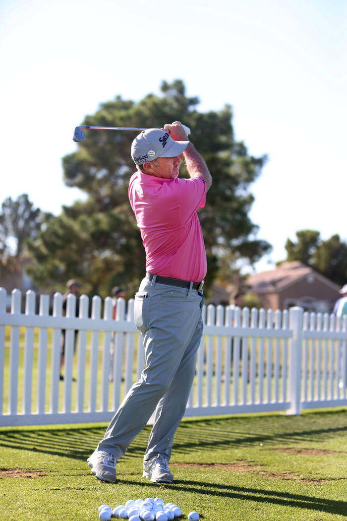 Australian professional golfer Rod Pampling during the preview day at Shriners Hospitals for Children Open, PGA Tour at TPC Summerlin in Las Vegas, Wednesday, Nov. 1, 2017. Elizabeth Brumley Las V ...
