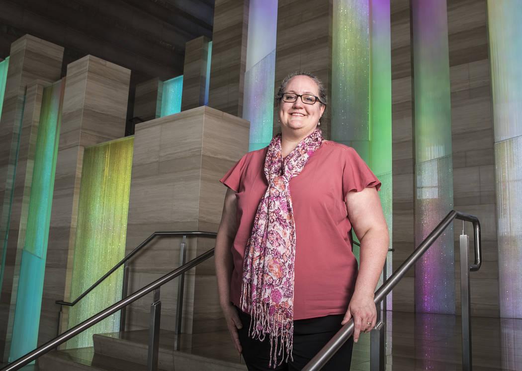 Las Vegas Cultural Affairs director Ally Haynes-Hamblen on Wednesday, September 20, 2017, at Las Vegas City Hall. Benjamin Hager Las Vegas Review-Journal @benjaminhphoto