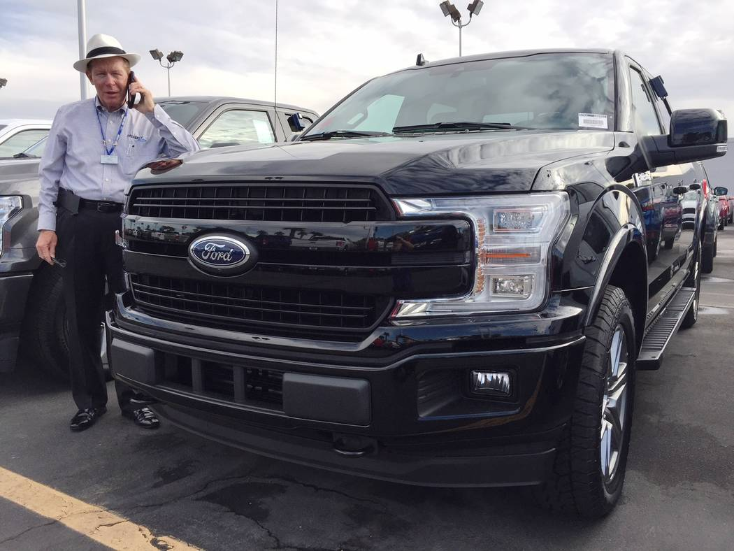 Friendly Ford Friendly Ford sales consultant Larry Davis is being contacted constantly regarding the 2018 Ford F-150.