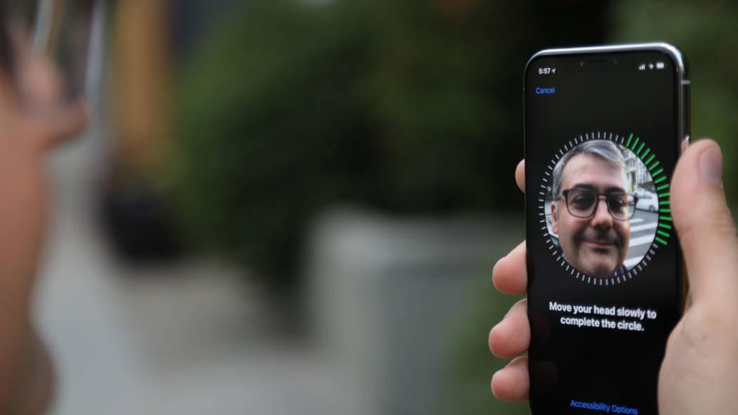Apple's new iPhone X. Jhaan Elker/Washington Post