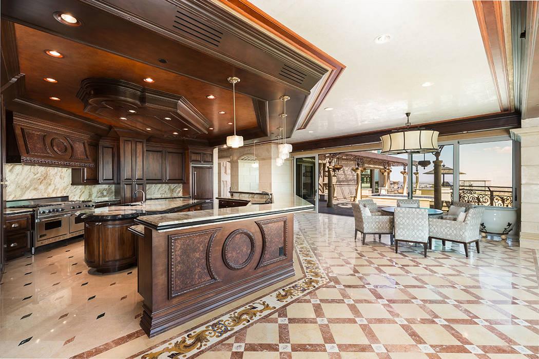 The kitchen. (Luxury Estates International)