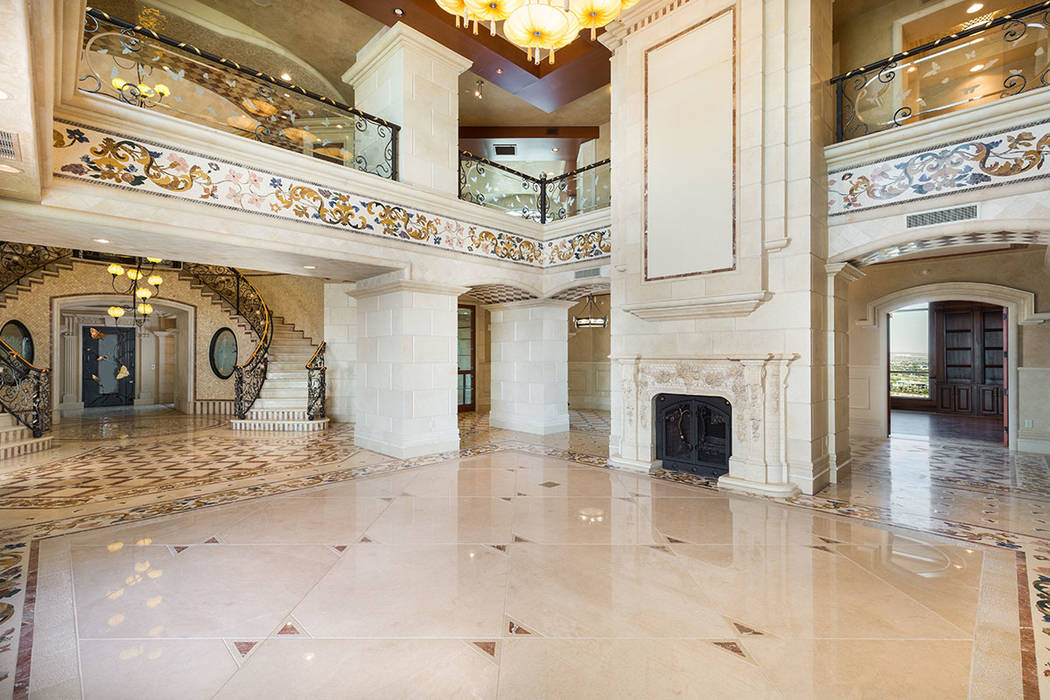 This is one of four Crown Penthouses in One Queensridge Place. It has never been occupied. (Luxury Estates International)