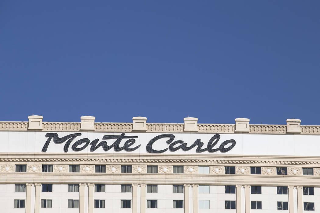 Monte Carlo Resort and Casino in Las Vegas on Thursday, June 1, 2017. Richard Brian Las Vegas Review-Journal @vegasphotograph
