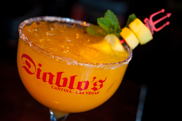 The Mangorita at Diablo's Cantina,  The Monte Carlo, on Friday Feb. 14, 2014. Martin S. Fuentes/Las Vegas Review-Journal)