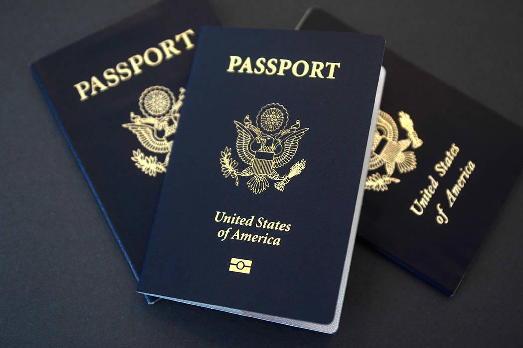 U.S. passports file photo. The Associated Press.