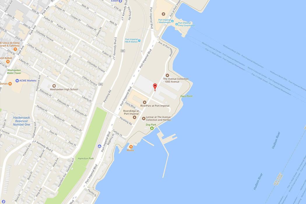 1200 Avenue at Port Imperial, Weehawken, N.J. Google Maos