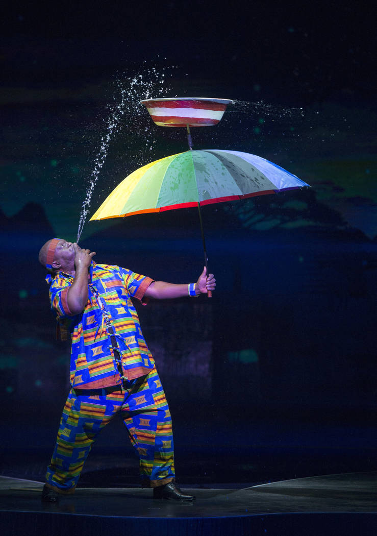 "Dickson Oppong is among the stars of the variety production ""Wow"" at the Rio. (Roi B.)"