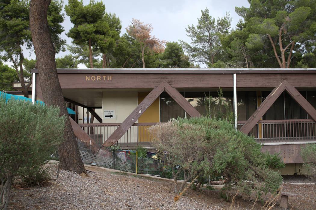 The Rose Gardens senior public housing complex is located off of Yale Street and East Tonopah Avenue North Las Vegas, on Thursday, Sept. 7, 2017. Gabriella Angotti-Jones Las Vegas Review-Journal @ ...
