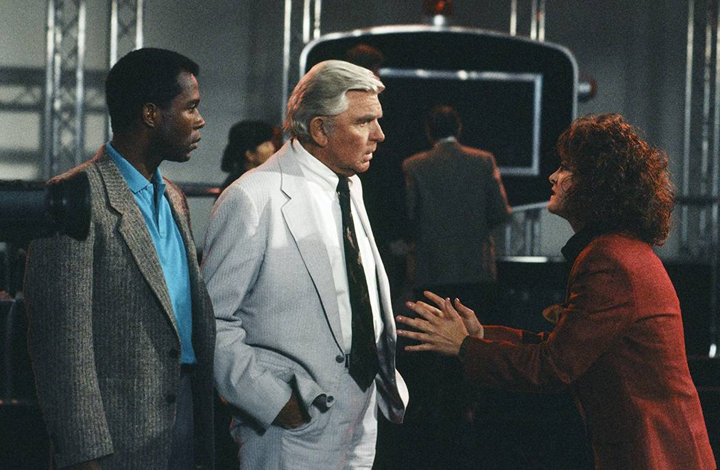 """Clarence Gilyard, Andy Griffith and Kathleen Garrett in """"Matlock"""" (1986) (Photo by NBC)"""