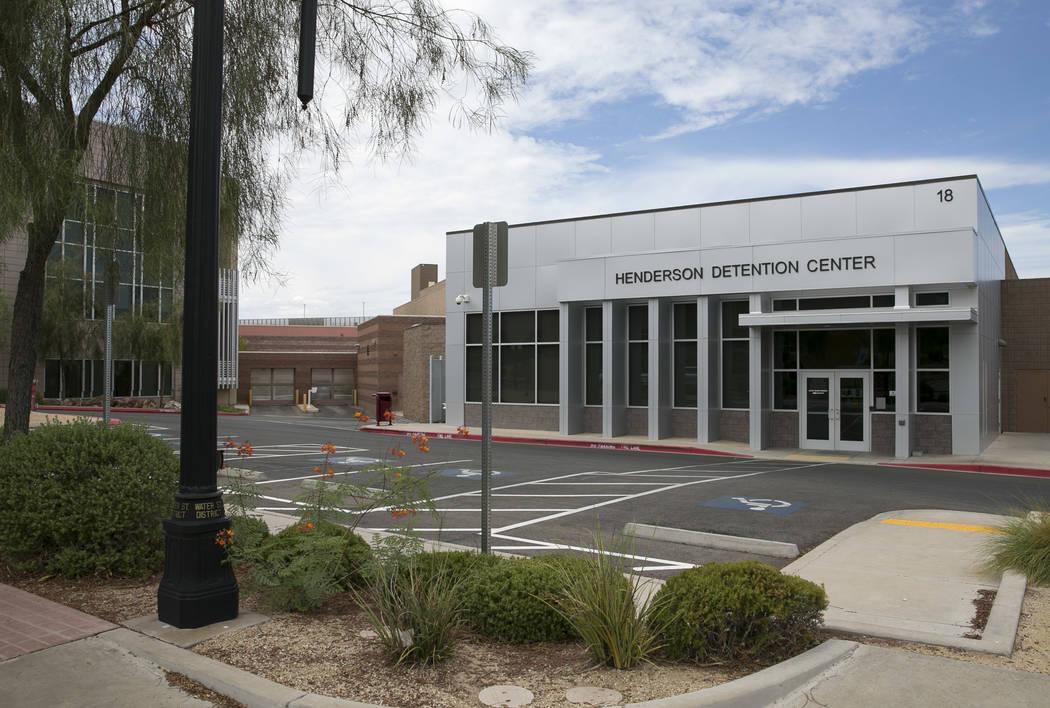 Henderson Detention Center located at 18 East Basic Rd., Thursday, August 3, 2017. Richard Brian Las Vegas Review-Journal @vegasphotograph