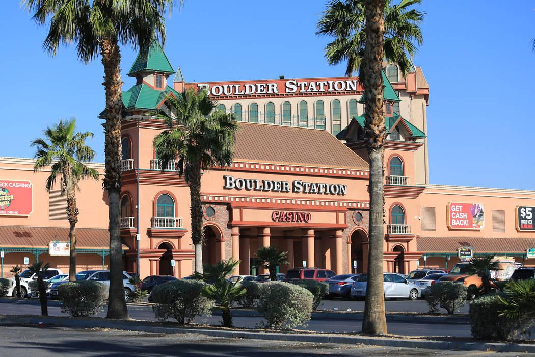 Boulder Station hotel-casino in Las Vegas. Brett Le Blanc Las Vegas Review-Journal @bleblancphoto