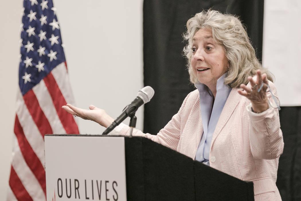 Congresswoman Dina Titus. Morgan Lieberman Las Vegas Review-Journal