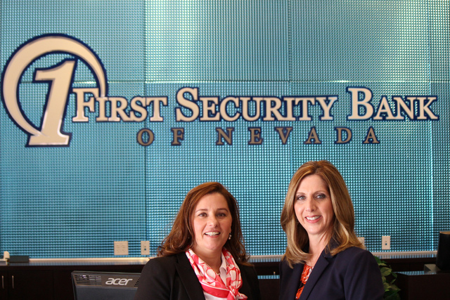 Patricia Ochal, left, and Carolyn Crockett. Jeffrey Meehan/Las Vegas Business Press