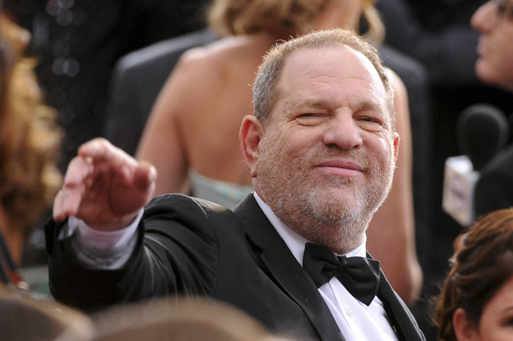 Harvey Weinstein. (Photo by Vince Bucci/Invision/AP, File)