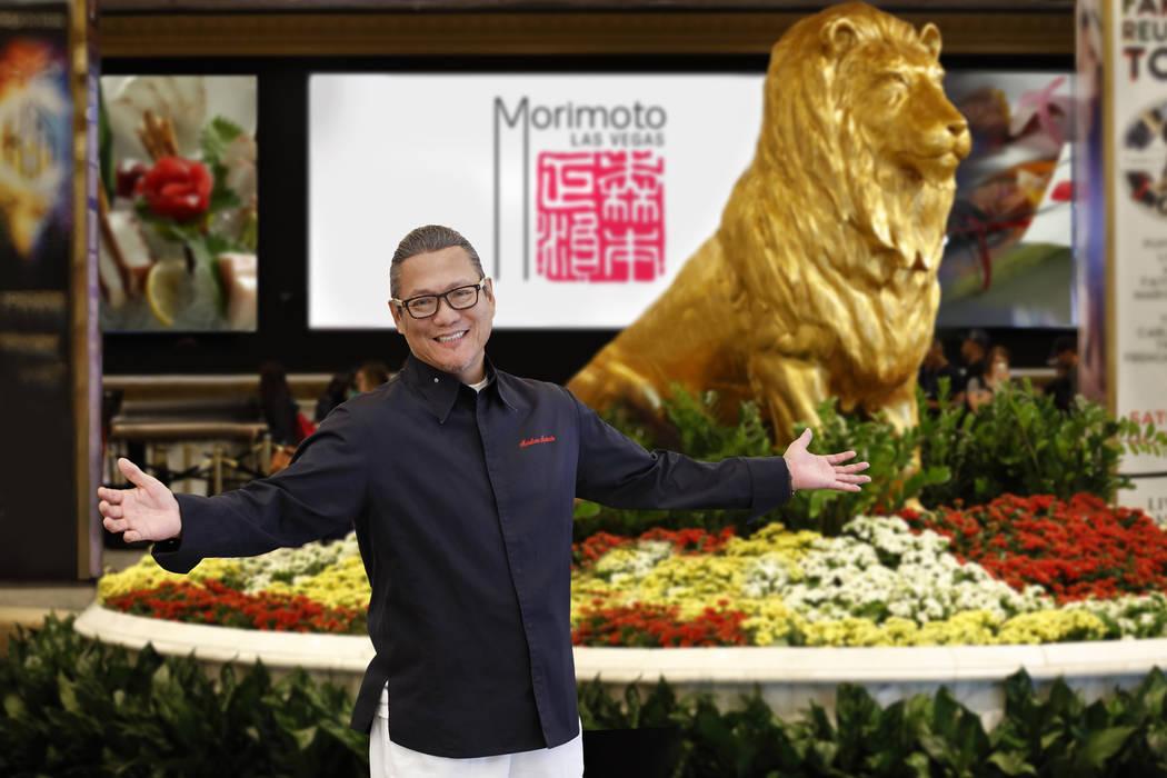 Masaharu Morimoto poses at MGM Grand. MGM Resorts International