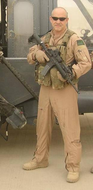 Yonel Dorelis in 2009 in Balad, Iraq.