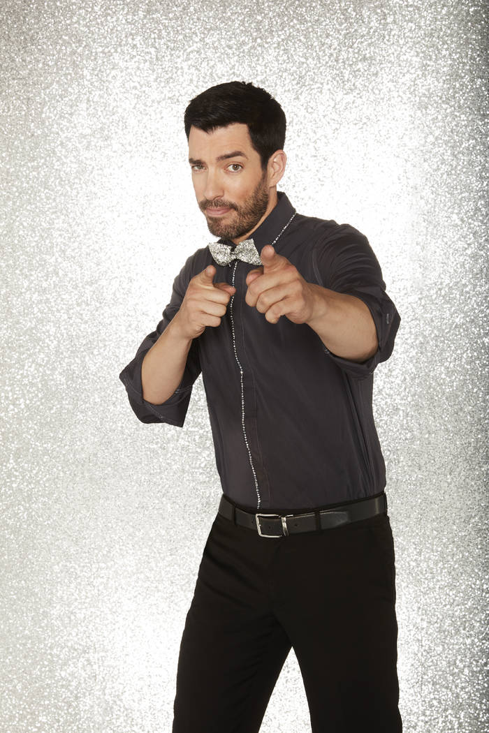 "TV Reality star and Vegas resident Drew Scott sheds his winning Halloween costume from last week's ""Dancing with the Stars"" episode on ABC TV for tonight's pre-finals when six former conte ..."