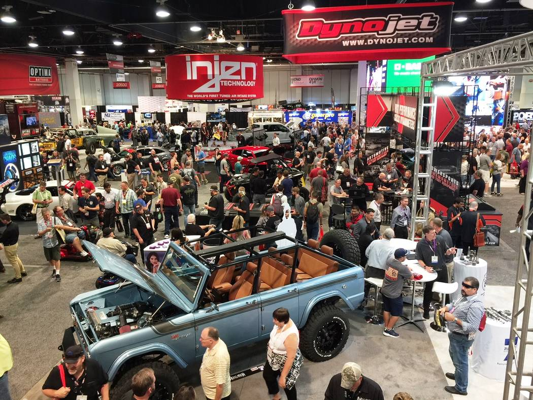 Mike Henle As usual, SEMA drew incredible crowds at each of its venues at the Las Vegas Convention Center.