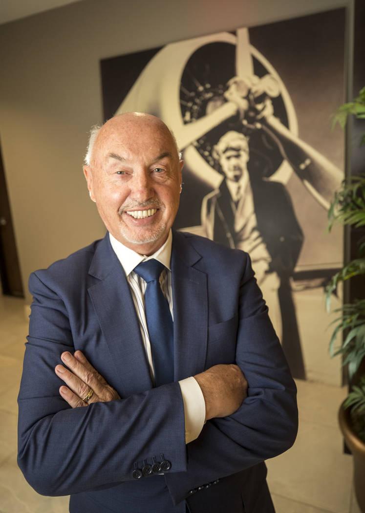 Summerlin President Kevin Orrock poses at The Howard Hughes Corporation headquarters in Las Vegas on Tuesday, Nov. 14, 2017. Richard Brian Las Vegas Review-Journal @vegasphotograph