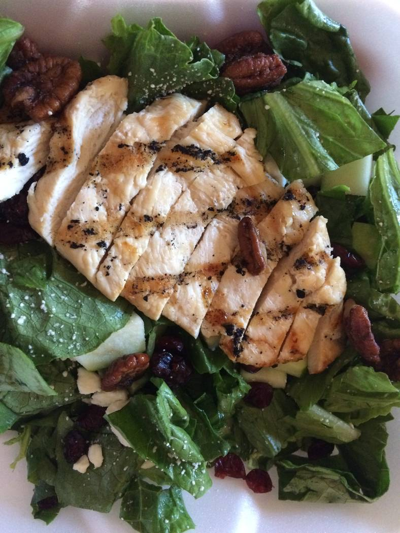Chicken salad at Edge of Town Bar & Grill  (Jan Hogan/View)