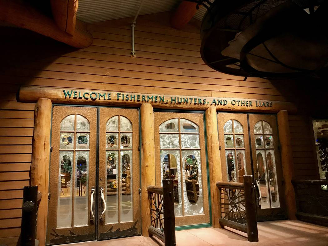 The Silverton hotel-casino concept turns 20 this year. Additions to the property include the adjacent 165,000-square-foot Bass Pro Shops' flagship store and a 117,000 gallon aquarium. (Madelyn Ree ...