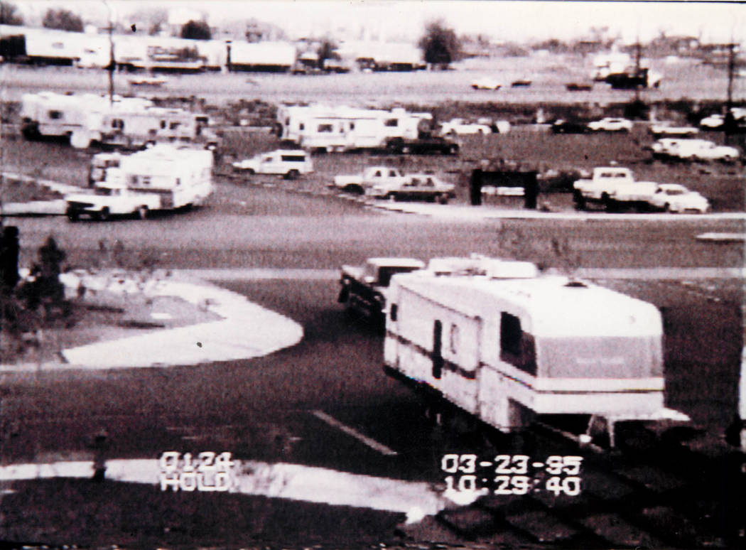 Boomtown's RV park is pictured on March 23, 1995. It was eliminated as part of the Silverton rebrand.
