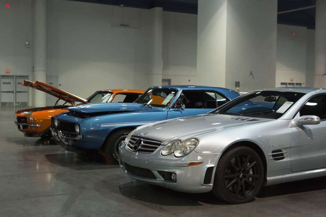 Mecum collector-car auction rolls into Las Vegas — PHOTOS – Las ...