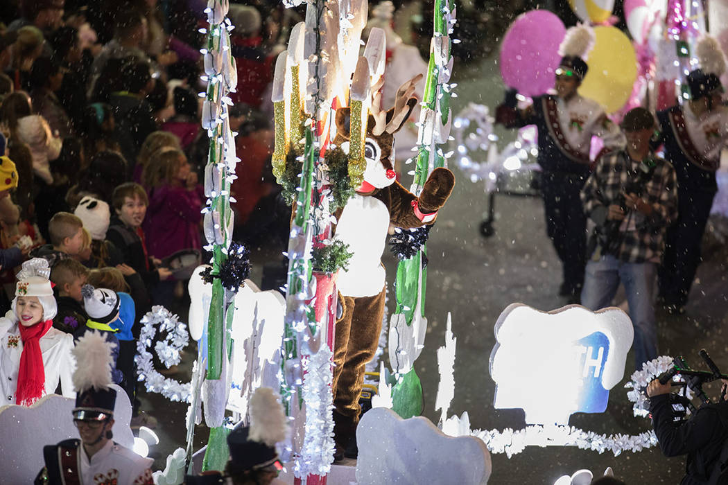 Downtown Summerlin kicks off the holiday season Nov. 17 with its annual holiday parade. (Summerlin)