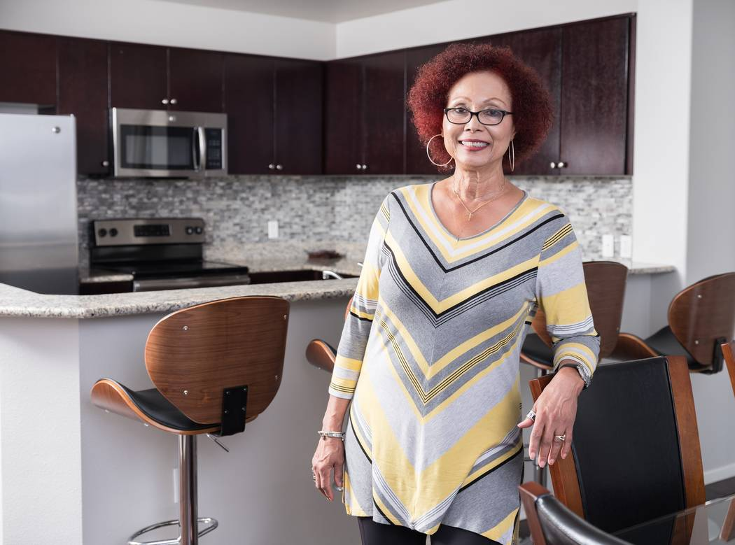 Vivian Williams was an Oakland, California, resident for more than 30 years before purchasing a two-bedroom home at One Las Vegas. The high-rise community is near the planned stadium, which will b ...