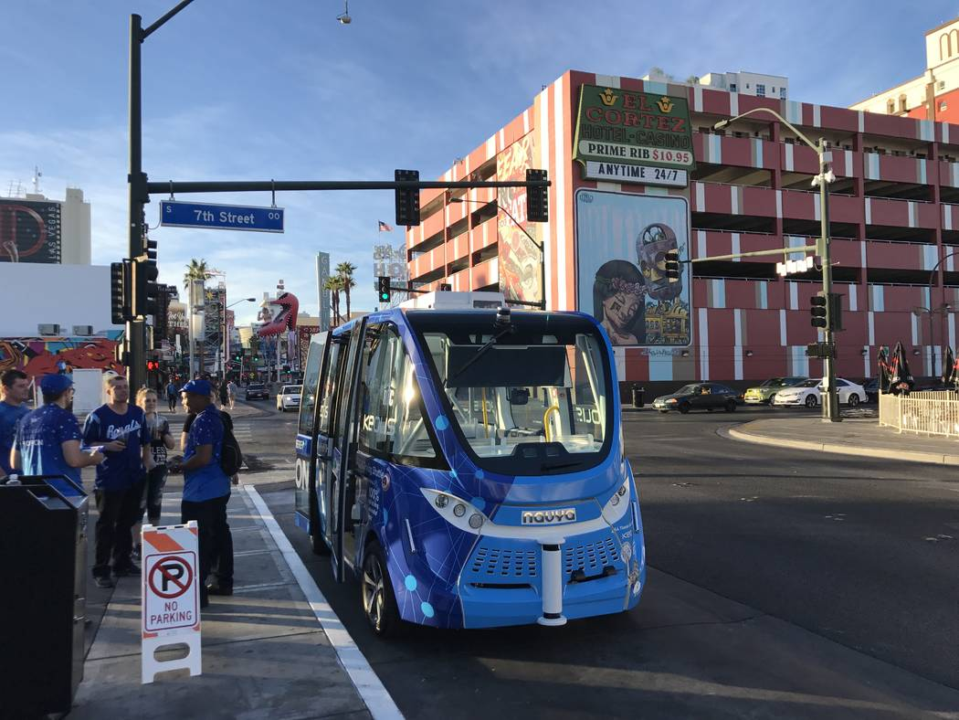 Human At Fault In Accident With Las Vegas Driverless Shuttle Las