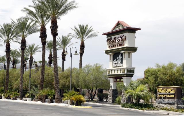 The Bali Hai Golf Club in Las Vegas is seen on Thursday, July 28, 2016. Bizuayehu Tesfaye/Las Vegas Review-Journal Follow @bizutesfaye