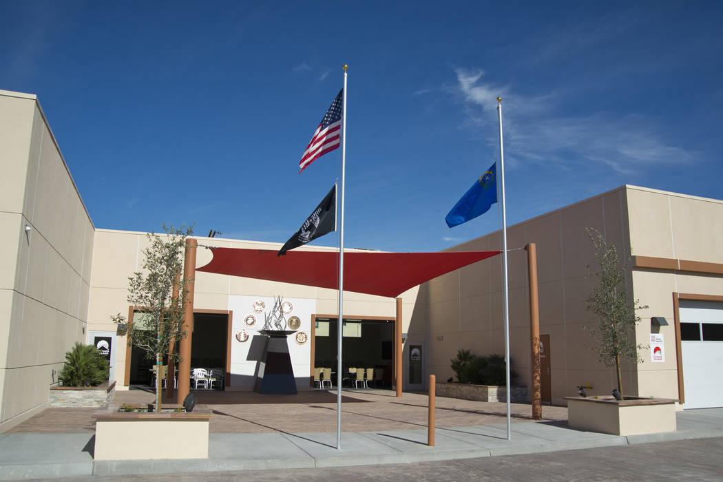 The newly established Veterans Village Crisis Intervention Center is seen in Las Vegas on Friday, Nov. 10, 2017. Daniel Clark/Las Vegas Review-Journal Follow @DanJClarkPhoto