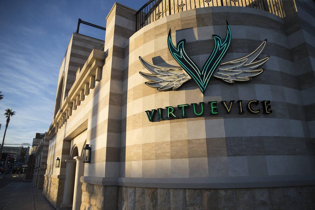 The Venue Las Vegas, at the intersection of Fremont Street and N. 8th Street, in Las Vegas, Thursday, Nov. 9, 2017. Erik Verduzco Las Vegas Review-Journal @Erik_Verduzco