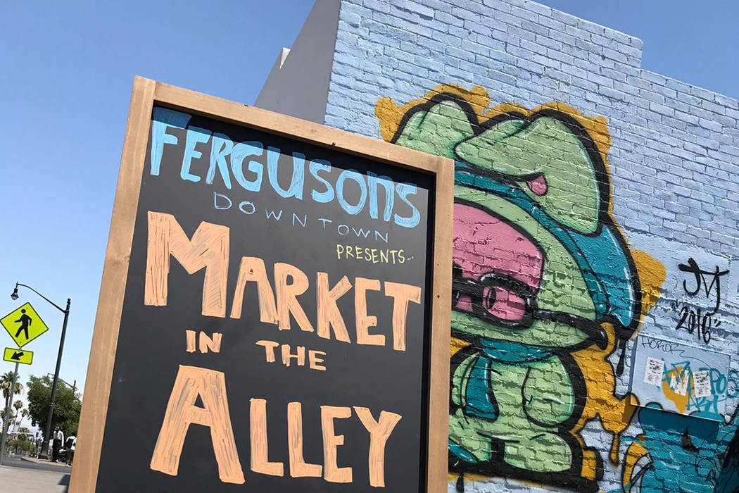 The Market in the Alley could grow to as often as once a week and host as many as 100 vendors. For now, it's once a month and hosts at least 20 vendors. Megan Fazio