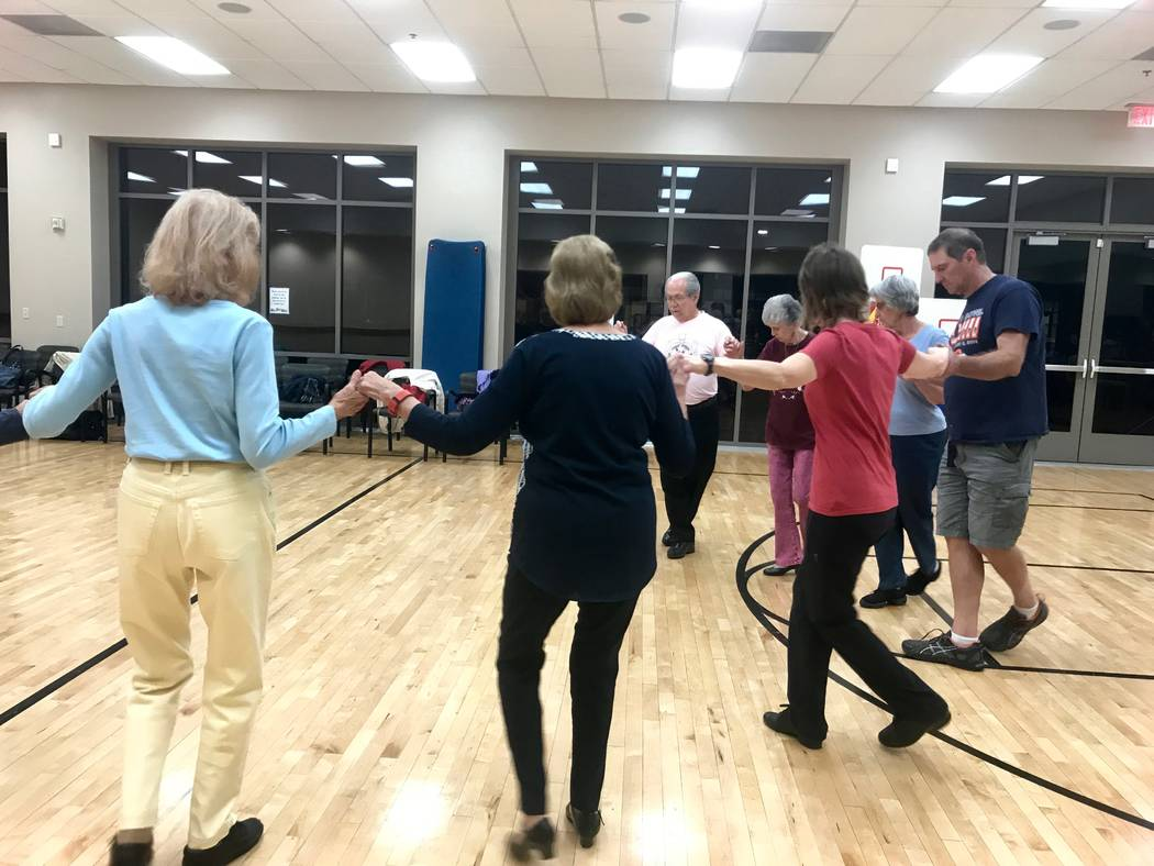 The Ethnic Express dance group ran through several of their favorite Israeli dances on Nov. 8 at the East Las Vegas Community Center. Richard Killian and wife Donna Killian started Ethnic Express  ...
