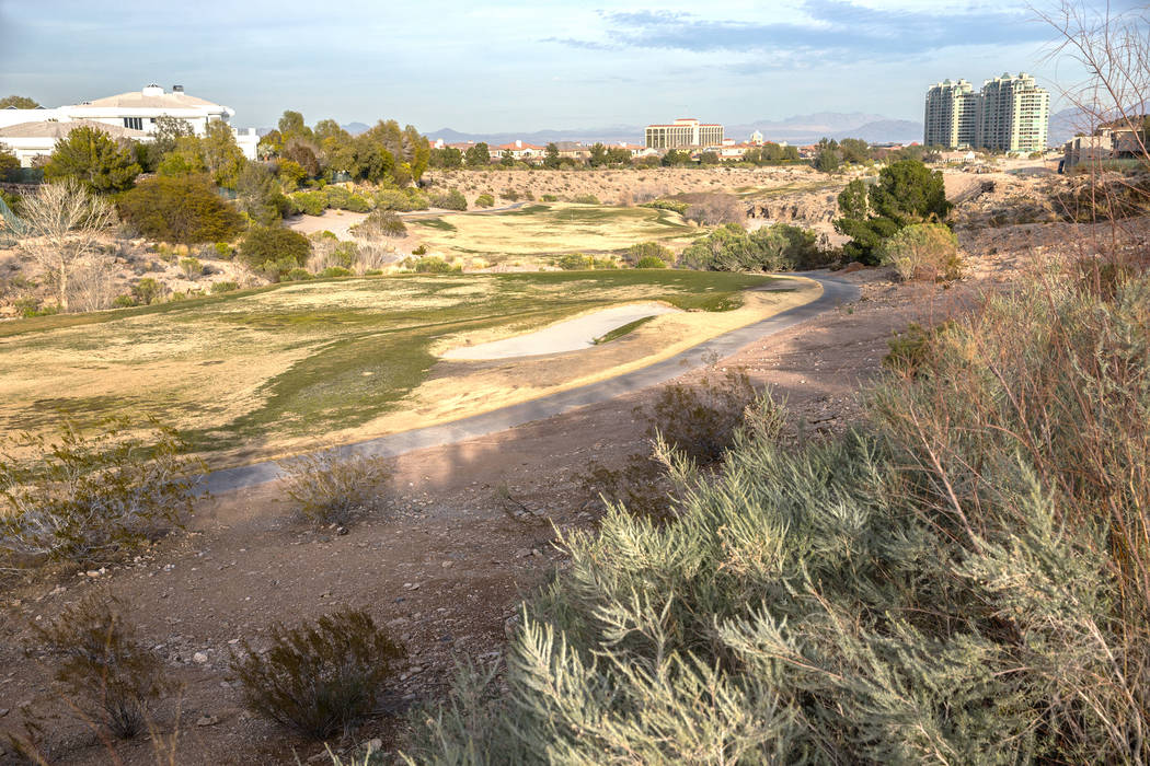 The proposed development on the Badlands golf course has prompted a more than year-long fight between the developer and neighboring residents. Photo taken on Wednesday, Feb. 1, 2017, at the Badlan ...