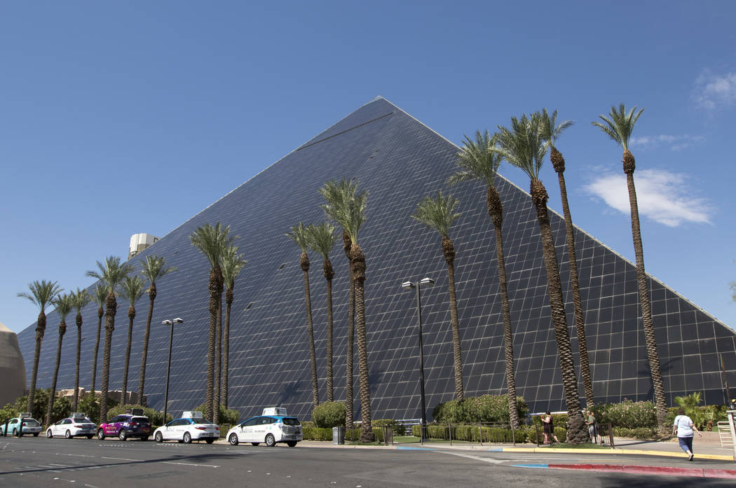 The Luxor hotel and casino in Las Vegas on Wednesday, July 5, 2017.  Richard Brian Las Vegas Review-Journal @vegasphotograph