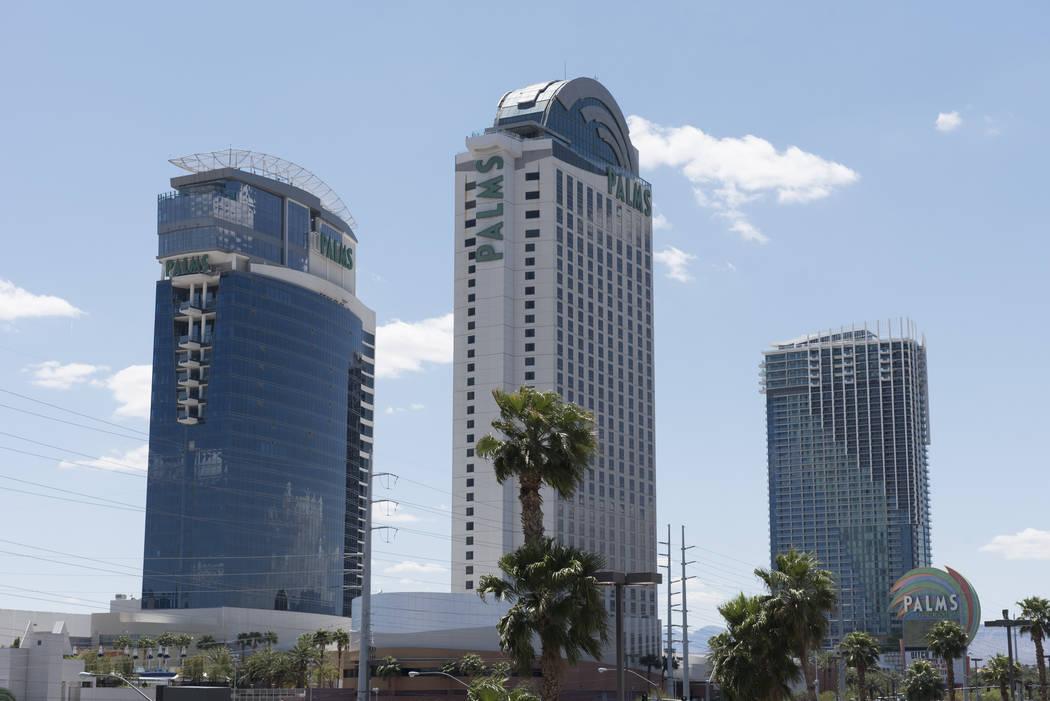 The Palms at 4321 W. Flamingo Road in Las Vegas. (Jason Ogulnik/Las Vegas Review-Journal)