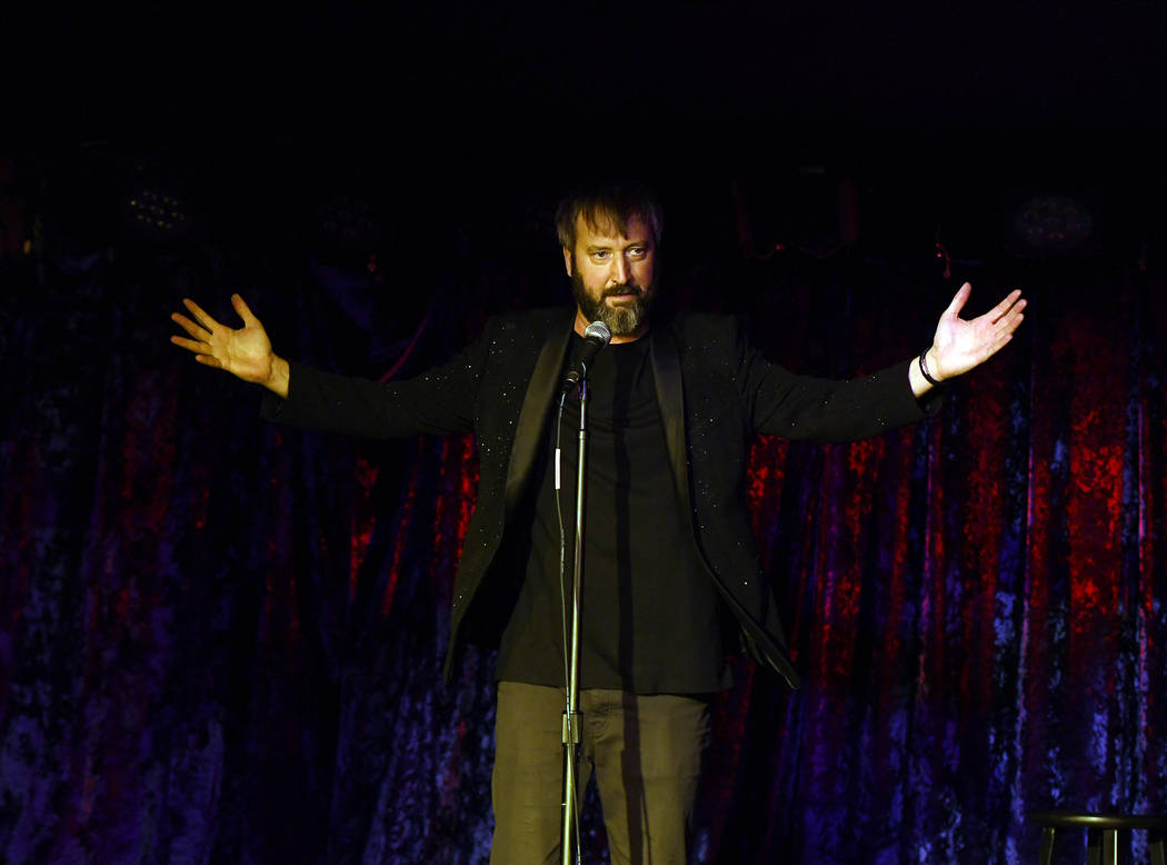 Tom Green opens his new show at Bally's on Nov. 8 (Denise Truscello)